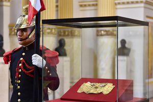 Peru nhận lại mặt nạ cổ Sican 1000 năm tuổi sau 20 năm bị thu giữ