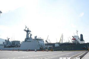 Tàu Hải quân Hàn Quốc đến thăm xã giao thành phố Đà Nẵng