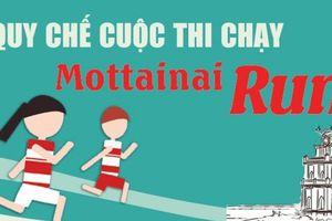 Quy chế Cuộc thi chạy Mottainai Run năm 2018 do Báo PNVN tổ chức