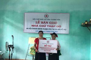 Thanh Hóa: Trao nhà chữ thập đỏ cho gia đình chính sách