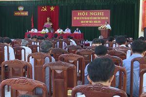 Nêu cao vai trò đại biểu HĐND tỉnh trong tiếp xúc cử tri
