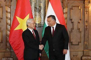 Hôm nay, Tổng Bí thư Nguyễn Phú Trọng kết thúc chuyến thăm Hungary