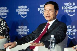 Quyền Bộ trưởng Nguyễn Mạnh Hùng: Việt Nam có lợi thế trong Cách mạng 4.0