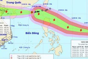 Bão số 5 tiến thẳng vùng biển Quảng Ninh - Nam Định, siêu bão MANGKHUT di chuyển về biển Đông