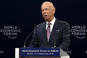 Chủ tịch WEF: 20 năm tới chúng ta sẽ hoàn toàn khác biệt