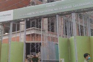 Làm rõ nguyên nhân vụ hai công nhân rơi từ công trình xây dựng xuống đất tử vong