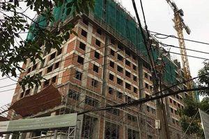 Sập giàn giáo công trình căn hộ Saigonhomes, 2 công nhân tử vong