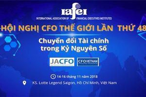 Hội nghị giám đốc tài chính thế giới lần đầu tiên được tổ chức tại Việt Nam