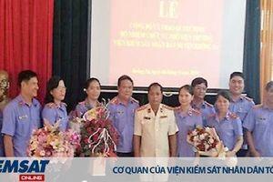 Trao quyết định bổ nhiệm Phó Viện trưởng VKSND huyện Krông Pa, tỉnh Gia Lai