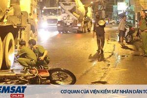 Xe máy gây tai nạn trong vụ án giao thông là vật mang dấu vết tội phạm