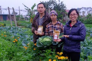 Hai bạn trẻ 9X giải cứu nông sản bền vững với 'Ngỗng'