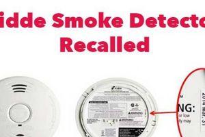 Hãng thiết bị PCCC nổi tiếng Kidde thu hồi gần 500.000 bộ cảm biến phát hiện khói