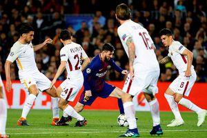 Bi kịch 'đốt đền', AS Roma thua thảm Barca ở tứ kết Champions League