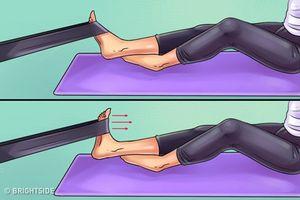 6 bài tập giúp giảm đau chân và đầu gối