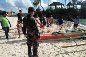 Cảnh sát chống bạo loạn Philippines đóng cửa đảo 'hầm phân' Boracay