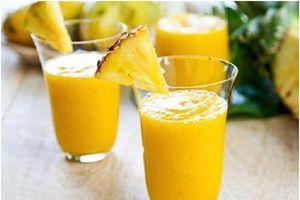 Bỏ túi 5 loại sinh tố trái cây giúp giảm mỡ bụng hiệu quả