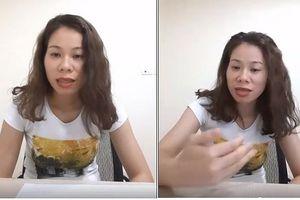 Người mạt sát học viên 'óc lợn': Livestream thách thức dư luận