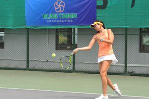 Tài năng 15 tuổi khuynh đảo giải quần vợt trẻ VTF