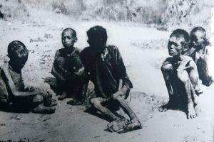 Những hình ảnh thảm khốc về nạn đói 1945