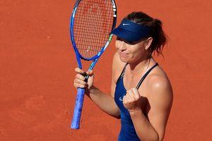 Clip Roland Garros 2018: Sharapova thắng nhọc, Serena hóa 'người mèo'
