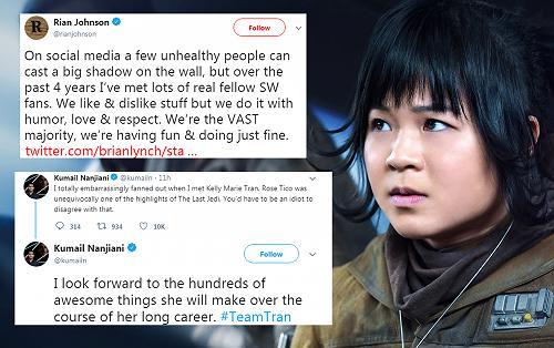 Nhiều sao Hollywood ra mặt bảo vệ nữ diễn viên gốc Việt đang bị kỳ thị