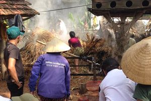 Nghệ An: Người dân hoang mang khi 'làng cháy' lại tiếp tục cháy