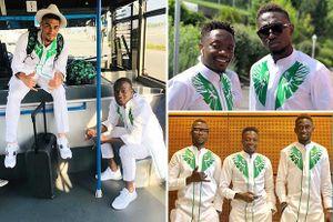 Nigeria lại gây sốt với trang phục dự World Cup... không giống ai