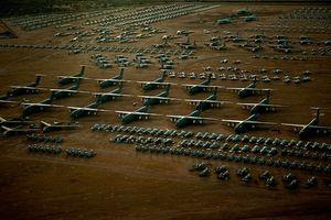 'Nghĩa địa máy bay' lớn nhất châu Âu có sánh ngang được với Mỹ?