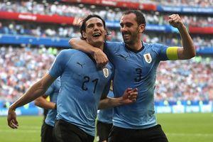 Đè bẹp tuyển Nga, Uruguay toàn thắng vòng bảng World Cup