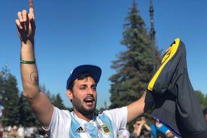 C ng viên Argentina: 'Chúa i, chúng tôi ã hi sinh'