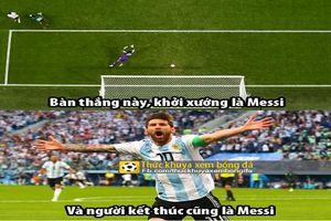 nh ch bóng á: Messi là khi nguyên cng là kt thúc ca Argentina