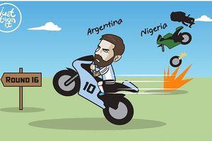 Bim ha 24h: Messi lách qua khe ca hp, Ronaldo ht hong vi VAR