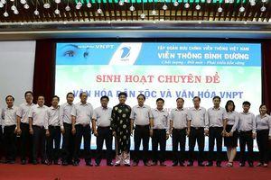 Nói chuyện văn hóa dân tộc trong hội thảo VNPT