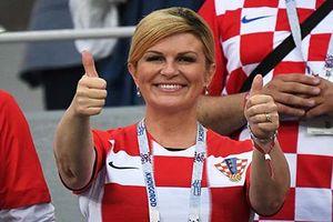 Nữ Tổng thống Croatia yêu bóng đá cuồng nhiệt như thế nào?