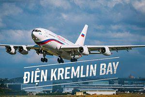 Bên trong chuyên cơ 500 triệu USD của tổng thống Nga Putin
