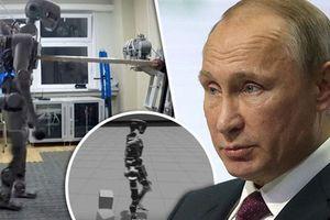 Nga đưa robot hình người vào vũ trụ, quyết đuổi kịp Mỹ-Trung