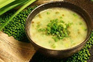 Trổ tài làm cháo đậu xanh bổ dưỡng, tốt cho sức khỏe