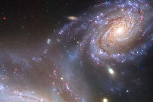 Thiên hà từng va vào thiên hà Milky Way đáng sợ thế nào?