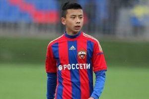 Video cực hiếm về tài năng gốc Việt Li Tenglong trong máu áo CSKA