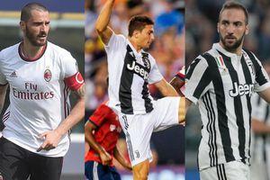 Juve chốt tương lai của bộ ba Bonucci, Higuain và Caldara?