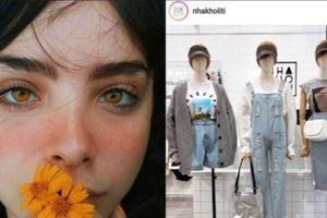 Cô gái Brazil sốc khi phát hiện ảnh chân dung bị in trên áo bán tại Việt Nam