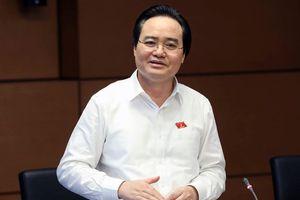 Bộ trưởng Nhạ xin lùi thông qua Luật Giáo dục vào năm 2019