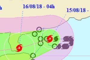 Vì sao bão số 4 - Bebinca có hướng di chuyển bất thường?