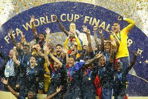 Bảng xếp hạng FIFA tháng 8/2018: Pháp chiếm ngôi đầu, Việt Nam xây chắc vị trí