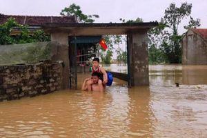 Thanh Hóa: Hàng nghìn hộ dân thành phố ngập trong nước, nhiều điểm ở miền núi sạt lở nghiêm trọng