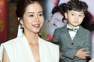 Bị con trai Hữu Khang 'tố' chửi thề, An Nguy vẫn cười híp mắt tại showcase 'Chú ơi đừng lấy mẹ con'