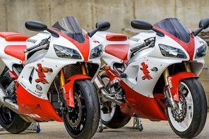 Siêu môtô Yamaha R1 2018 'biến hình' xe cũ đời đầu