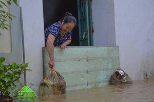 Điện Biên: Nhiều nhà dân bị ngập nước vì mưa lớn