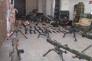 Quân cảnh Syria chiếm thêm kho vũ khí thánh chiến khủng ở Quneitra