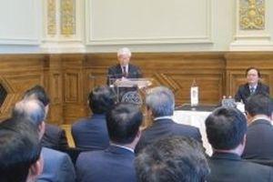 Tổng Bí thư Nguyễn Phú Trọng phát biểu tại Hội nghị Hiệu trưởng các trường ĐH Hungary - Việt Nam lần thứ hai